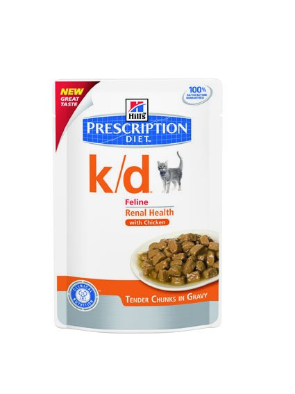 Hill's Hill's Prescription Diet Feline k/d with Chicken 12x 85gr