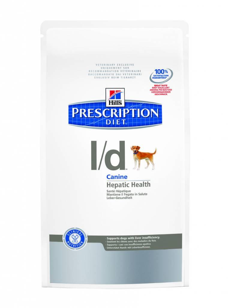 Hill's Hill's Prescription Diet Canine l/d 2kg