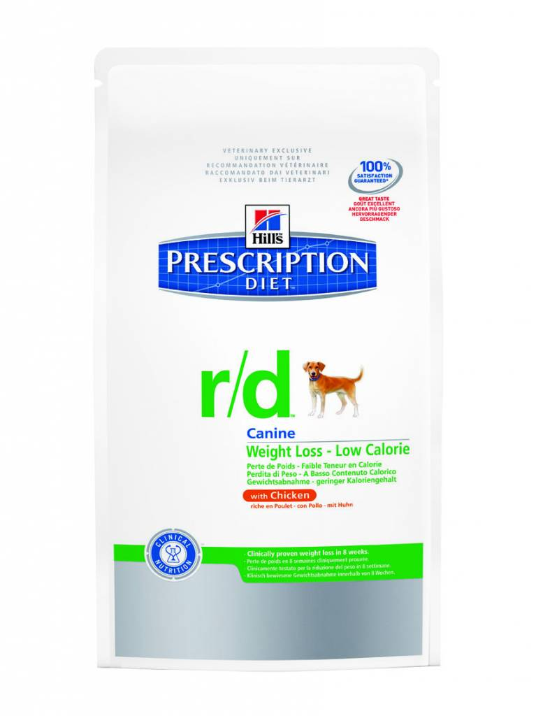 Hill's Hill's Prescription Diet Canine r/d with Chicken 4kg