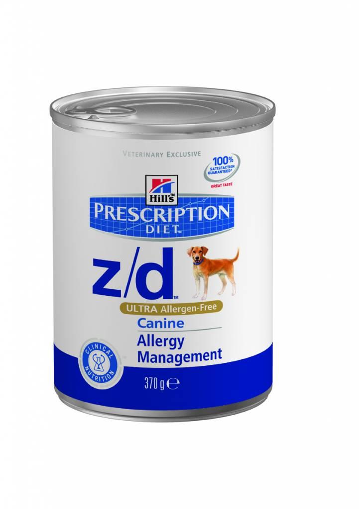 Hill's Hill's Prescription Diet Canine z/d ULTRA Allergen-Free 12x 370gr