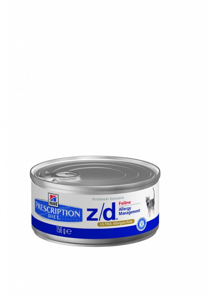 Hill's Hill's Prescription Diet feline z/d ULTRA Allergen-Free 24x156gr