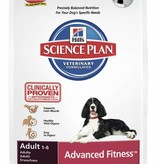 Hill's Hill's Science Plan Canine Adult Advanced Fitness Medium with Tuna & Rice 3kg