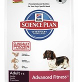 Hill's Hill's Science Plan Canine Adult Advanced Fitness Mini with Chicken 3kg