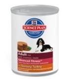 Hill's Hill's Science Plan Canine Adult Medium Savoury Turkey 12x370gr