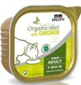 Specific Specific Organic Diet F-BIO-W  7 x 100 gram Chicken