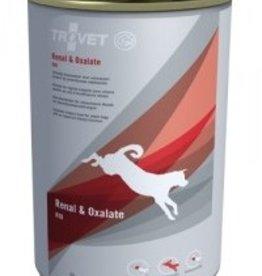 Trovet TROVET RID HOND RENAL & OXALATE BLIKJES 6 X 400 GR