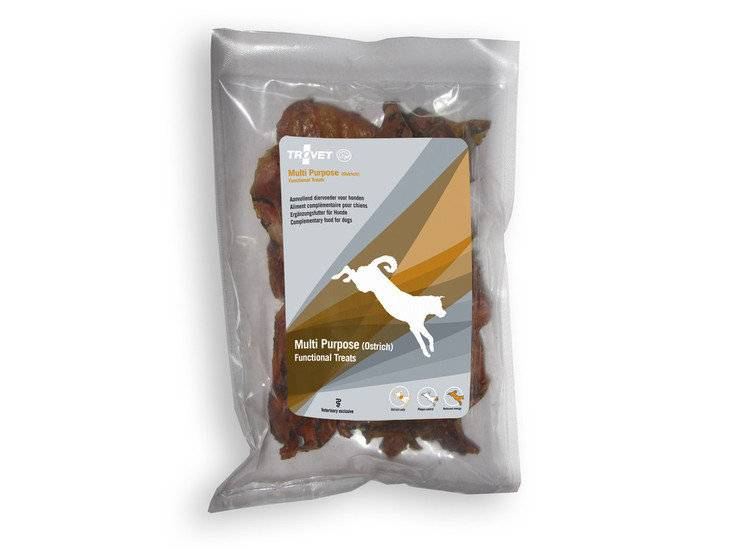 Trovet TROVET HOT HOND MULTI PURPOSE TREATS (OSTRICH) 150 GR