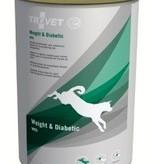 Trovet TROVET WRD HOND WEIGHT & DIABETIC 6 X 400 GR