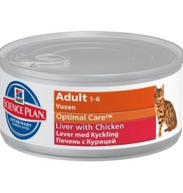 Hill's Hill's Science Plan Feline Adult Liver with Chicken 12x 85gr