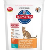 Hill's Hill's Science Plan Feline Adult Optimal Care™ with Tuna 6x400gr