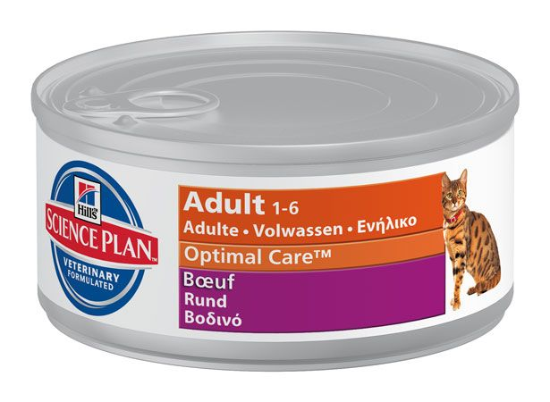 Hill's Hill's Science Plan Feline Adult Delicious Beef 24x 156gr