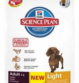 Hill's Hill's Science Plan Canine Adult Mini Light 2,5kg