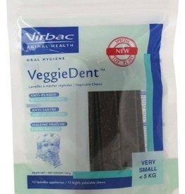 Virbac Virbac Veggiedent Xs Hond <5kg Kauwreep 15