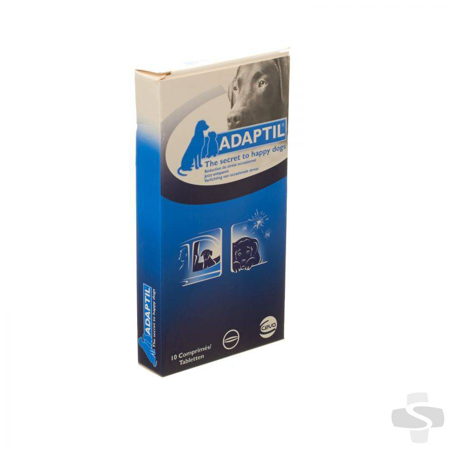 Adaptil Adaptil 10 tabletten (verlichting occasionele stress hond)