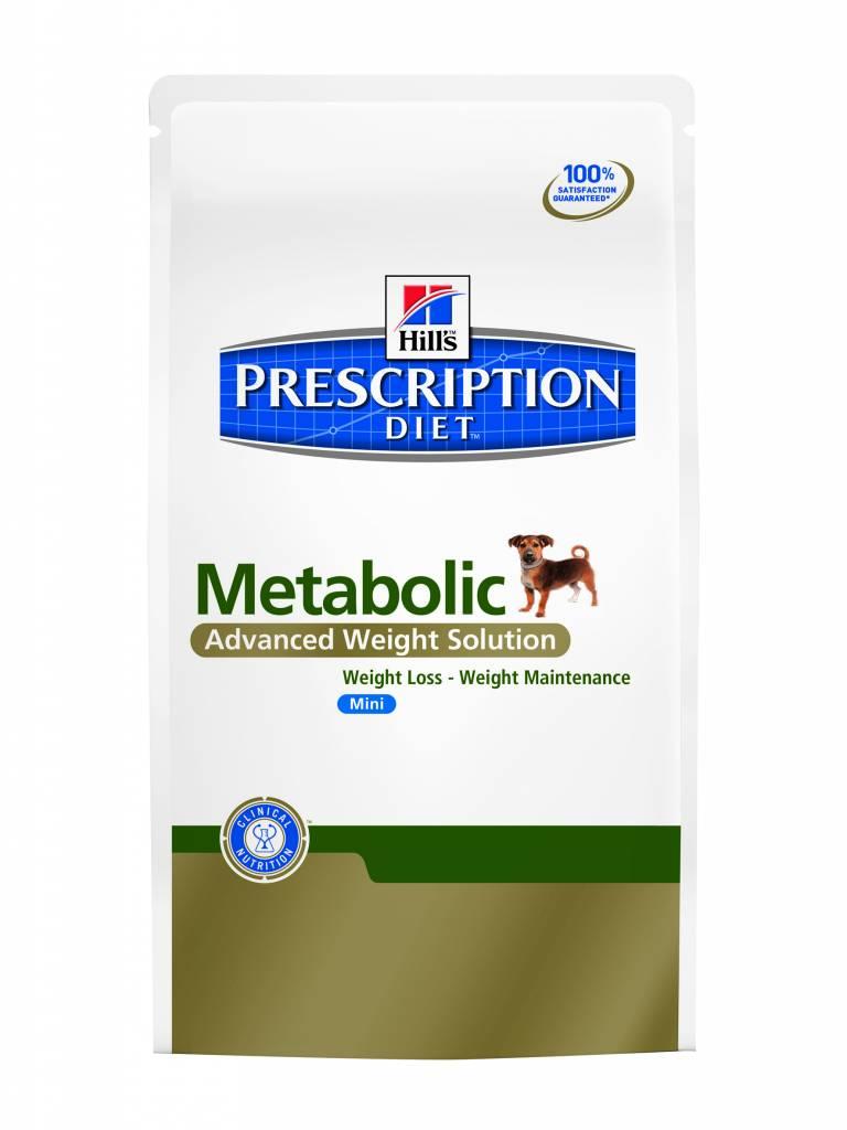 Hill's Hill's Prescription Diet Canine Metabolic Mini 1.5kg