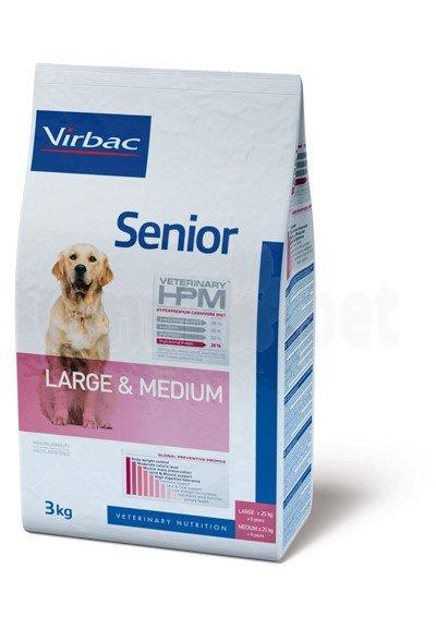 Virbac VIRBAC HPM SENIOR DOG LARGE & MEDIUM 7KG
