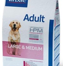Virbac VIRBAC HPM ADULT DOG LARGE & MEDIUM 16KG