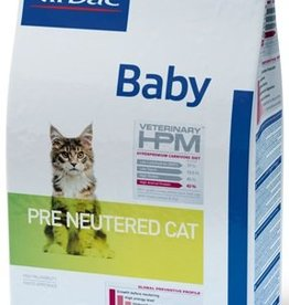 Virbac VIRBAC HPM BABY PRE NEUTERED CAT 1,5KG