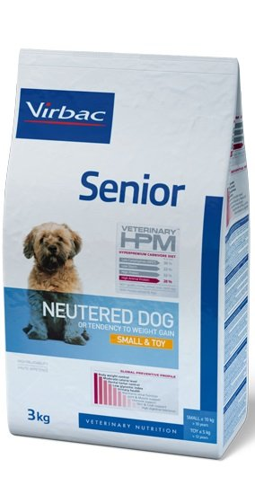 Virbac VIRBAC HPM SENIOR NEUTERED DOG SMALL&TOY 1,5KG