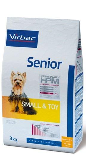 Virbac VIRBAC HPM SENIOR DOG SMALL & TOY 3KG