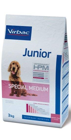 Virbac VIRBAC HPM JUNIOR DOG SPECIAL MEDIUM  3KG