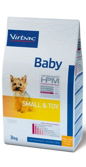 Virbac VIRBAC HPM BABY DOG SMALL & TOY 1,5KG