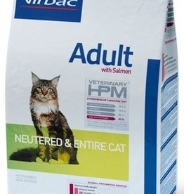 Virbac VIRBAC HPM ADULT NEUTERED&ENTIRE CAT SALMON 3KG