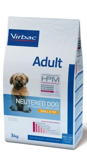 Virbac VIRBAC HPM ADULT NEUTERED DOG SMALL&TOY 1,5KG