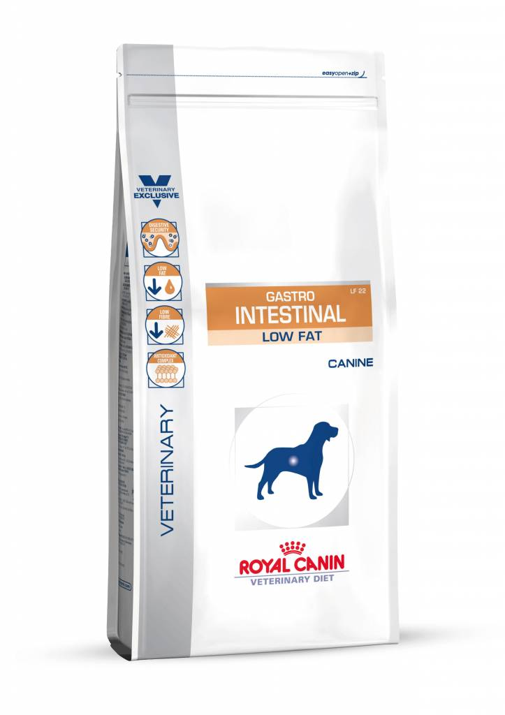 Royal Canin Royal Canin Gastro Intestinal Low Fat hond 6 kg