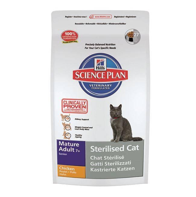 Hill's Hill's Science Plan Feline Sterilised Cat Mature Adult Chicken 3,5 kg