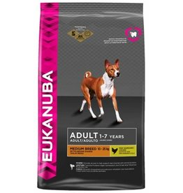 EUKANUBA EUKANUBA DOG ADULT MEDIUM BREED (KIP) 12 KG