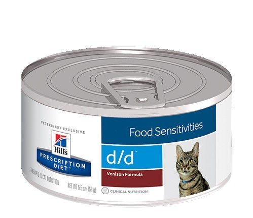 Hill's Hills Feline Kat Prescription Diet d/d Venison 24x 156gr