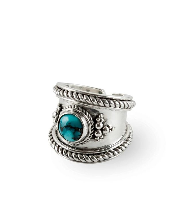 Route508 Silver Ring Bohème | Turquoise