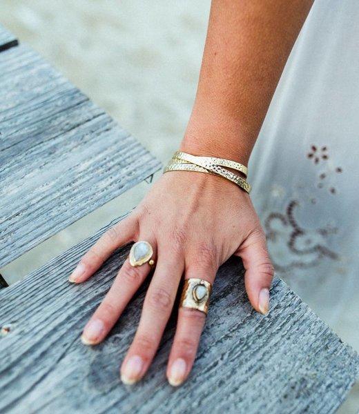 Ruby, Sheila Ring & Luna Armband - Set