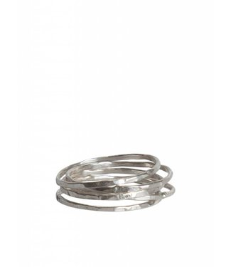 Route508 Sterling Silver Stackable Rings