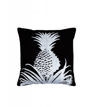 'Pineapple' cushion ǀ 50x50 ǀ Black