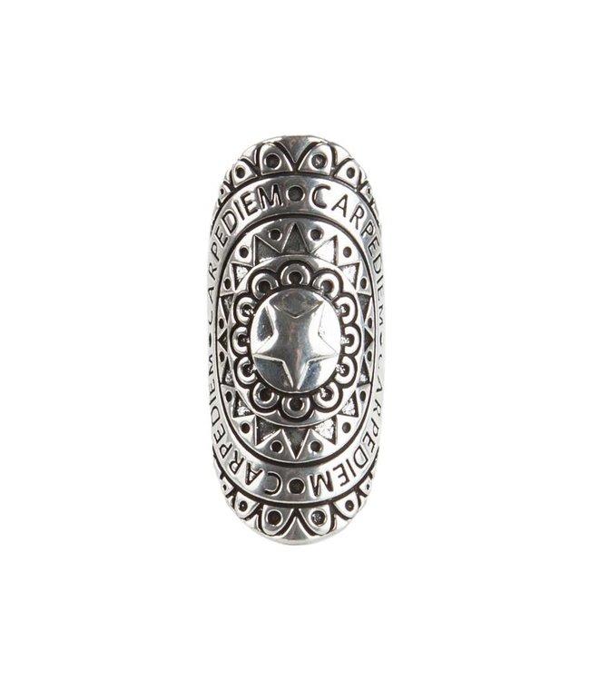 Rove Mandala Ring ǀ Carpe Diem