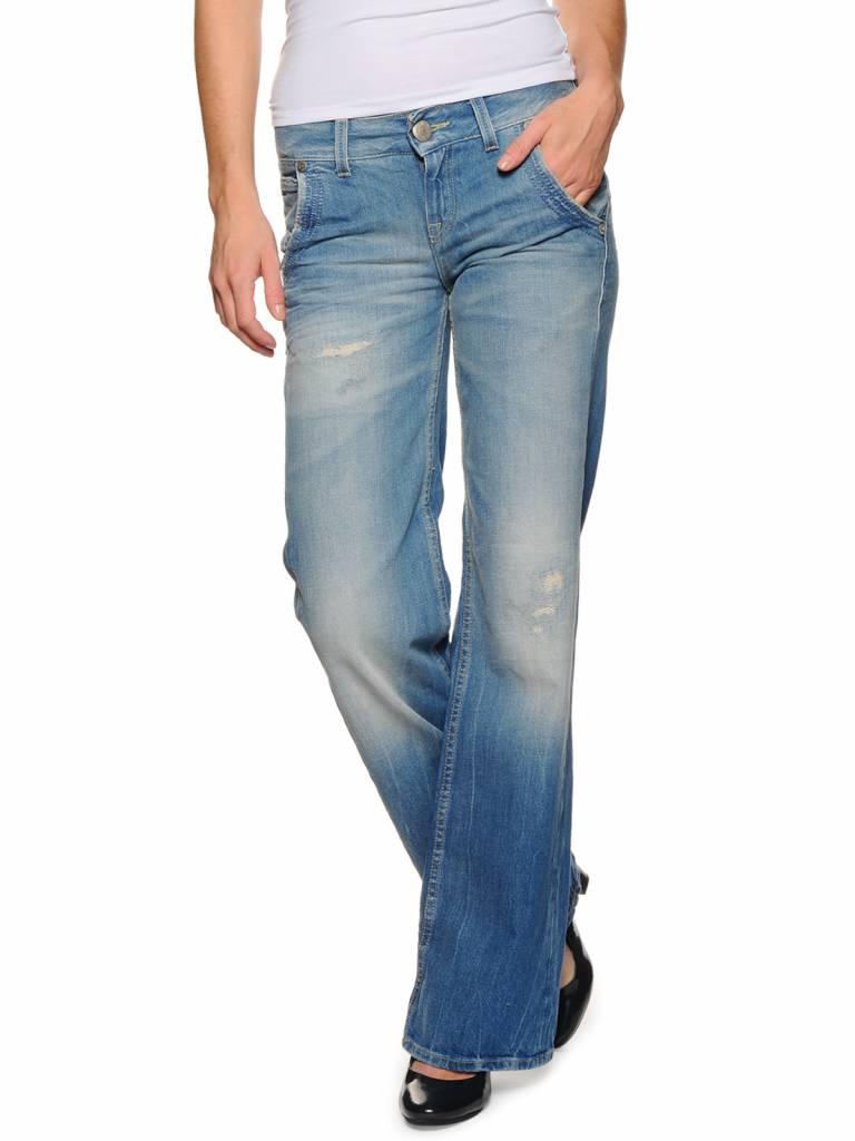 Tommy Hilfiger Dames Bootcut Jeans , lichtblauw
