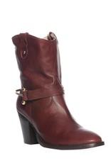 cinnamon skye half boots, bordeauxrood