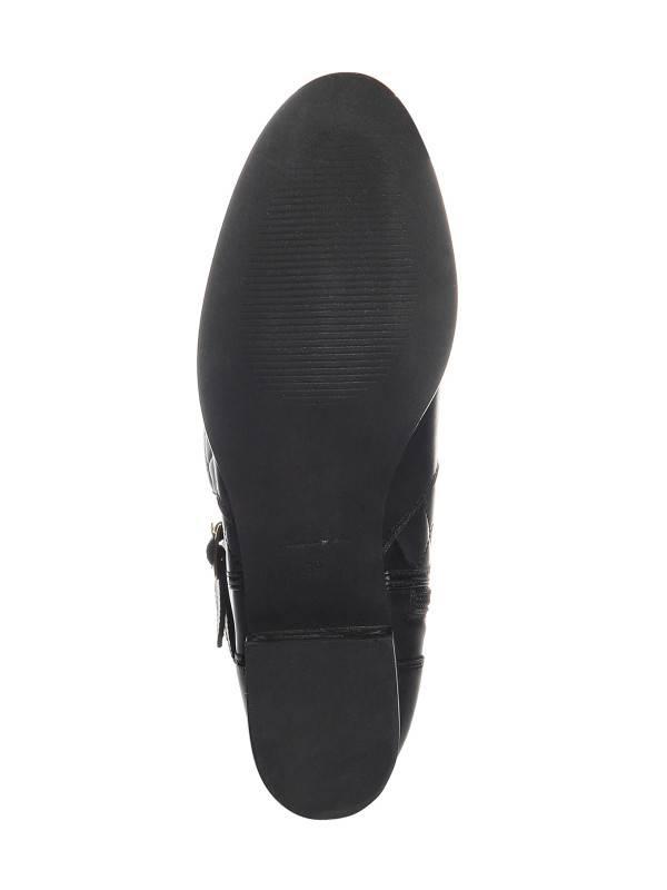 Conleys hoge leder laarzen, zwart