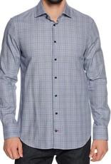 Tommy Hilfiger Geruiten overhemd,blauw/wit