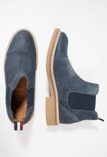 Tommy Hilfiger Oxus suède laarzen, blauw