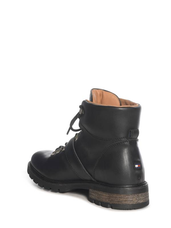 Tommy Hilfiger Curtis 8A laarzen, zwart