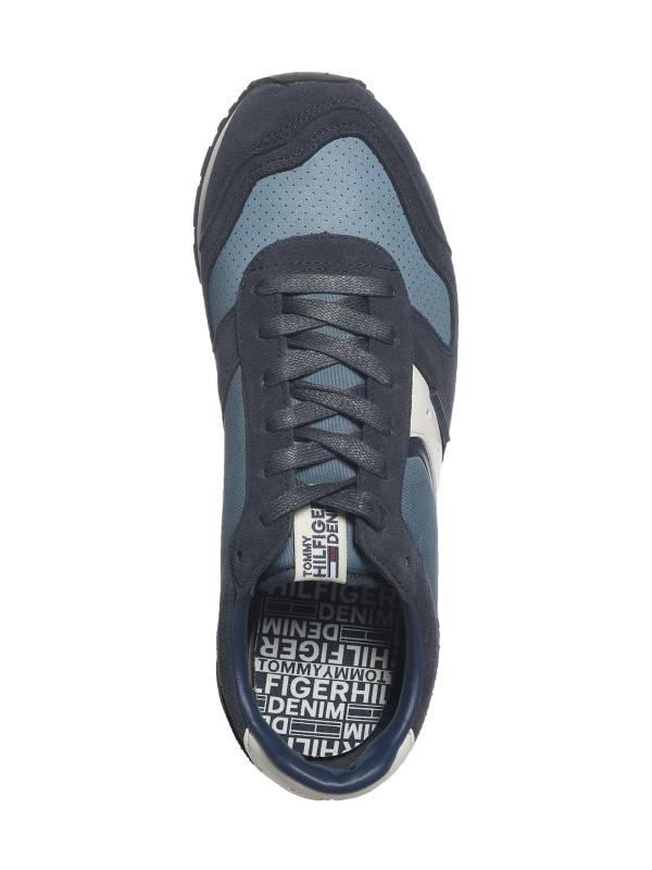 Tommy Hilfiger Heren sneakers, blauw