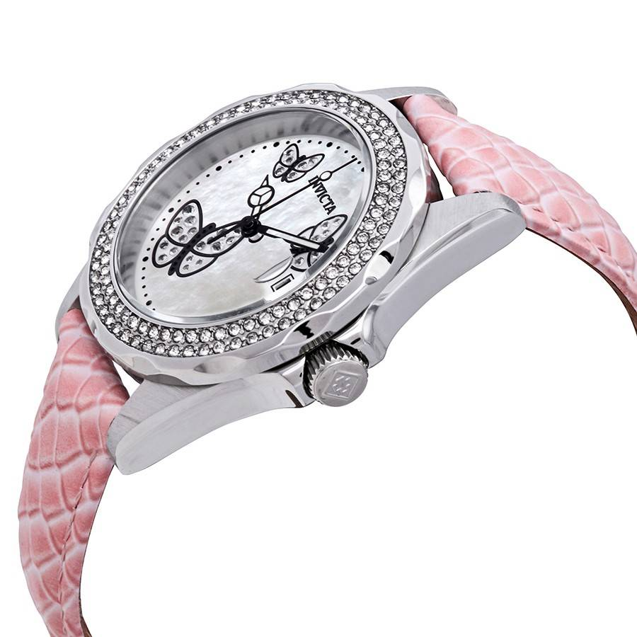 Invicta Angel Lady horloge, roze