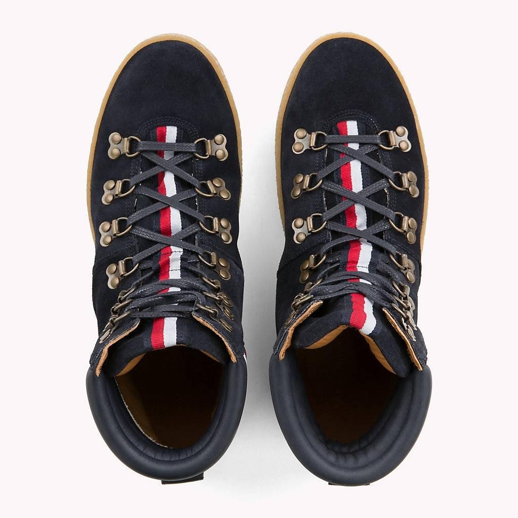 Tommy Hilfiger Heren hoge sneakers, blauw