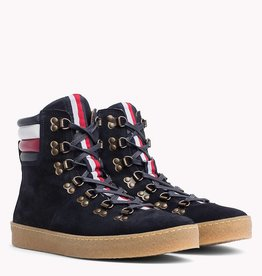 Tommy Hilfiger hoge sneakers, blauw