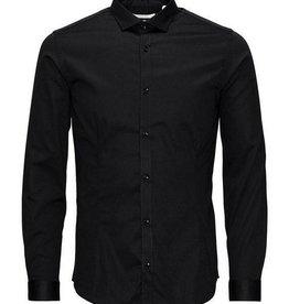 Mishumo Overhemd Regular Fit, zwart