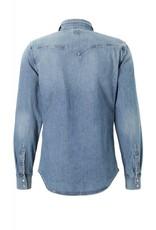 Lee Spijkeroverhemd, lichtblauw
