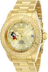 Invicta  Disney Limited Edition  Unisexhorloge, gold